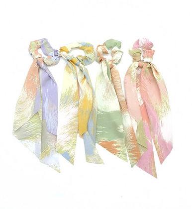 Long Scrunchie dye
