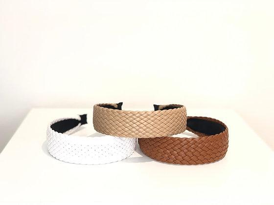 Headband PU leather