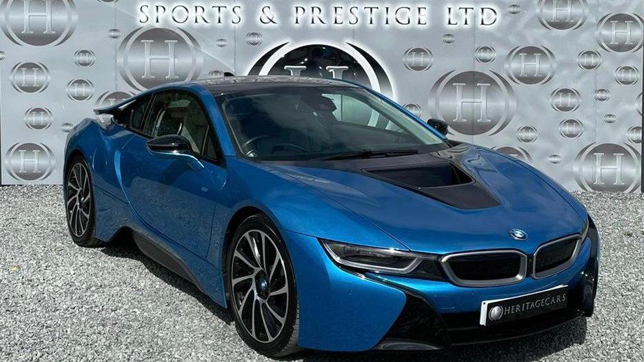 BMW I8 2016 (66)  Electric Hybrid