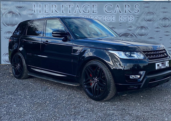 Range Rover sport HSE Autobiography 2016