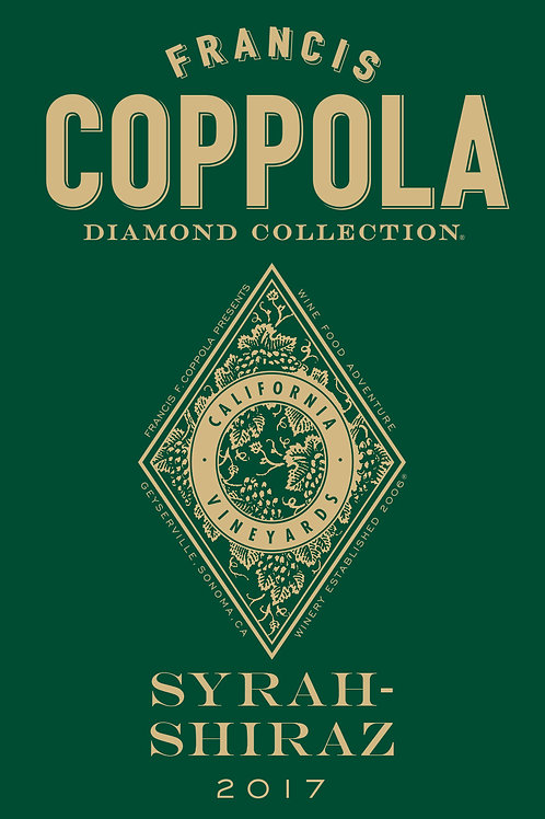 FRANCIS COPPOLA DIAMOND SYRAH-SHIRAZ '2017
