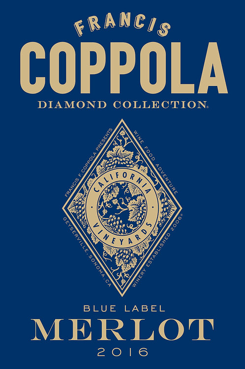 FRANCIS COPPOLA DIAMOND MERLOT '2015