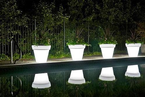 LED Illuminated Planter
