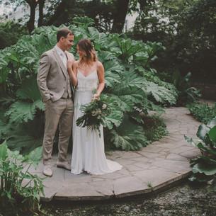 Botanical beach wedding | photos & video