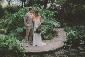 Botanical beach wedding | photos & video