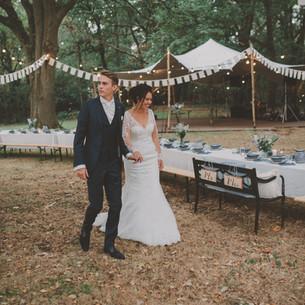 Woodsy boho wedding | photos