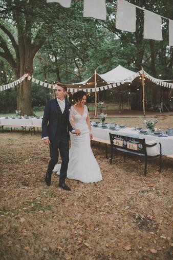 Woodsy boho wedding | photos