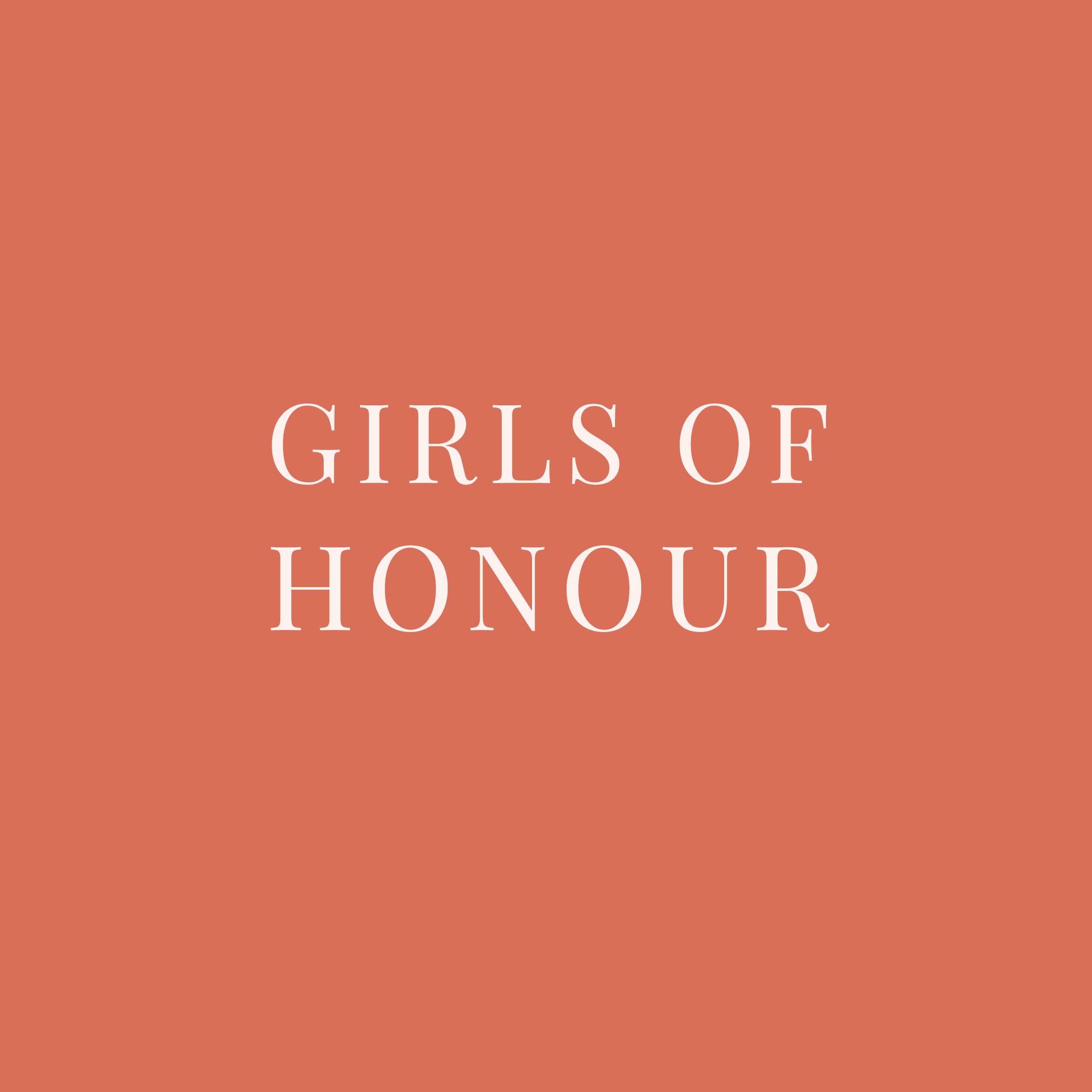 girlsofhonour.framingstories.huisstijl.logo