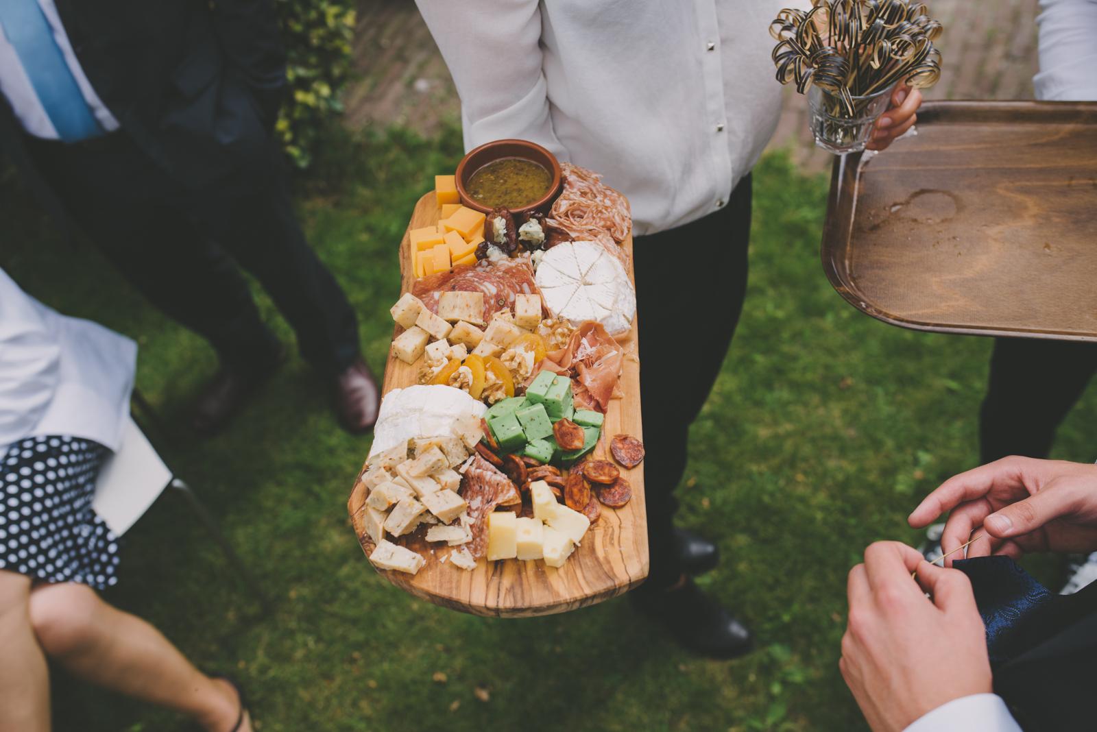 biologische bruiloftssnack