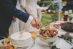 healthy wedding cake