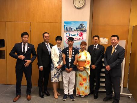 大阪副市長/大阪市議会議長/市議会議員の先生方と