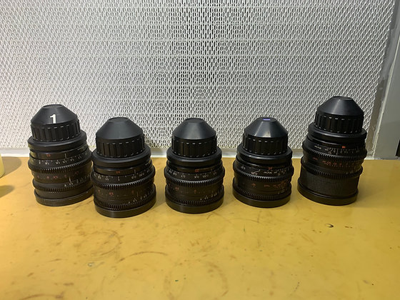 Zeiss Super Speed MK2 18,25,35,50,85