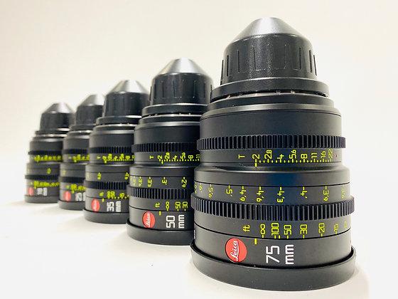 Leica Summicron18,25,35,50,75,100