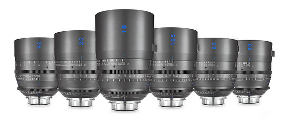 Tokina Vista One Primes 18,25,35,50,85,105