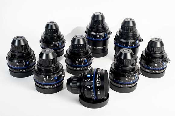 Zeiss CP3 15,18,21,25,28,35,50,85,100,135