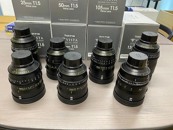 Tokina Vista Prime 18,25,35,50,85,105,135