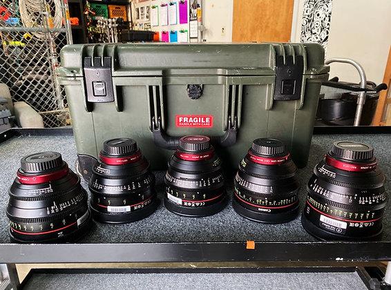 Canon CN-E 24,35,50,85,135