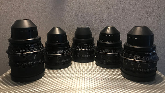 Zeiss Super Speed MK3 18,25,35,50,85
