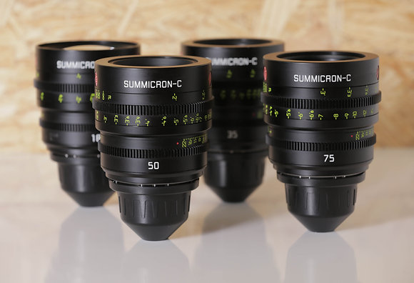 Leica Summicron 18,25,35,50,75,100