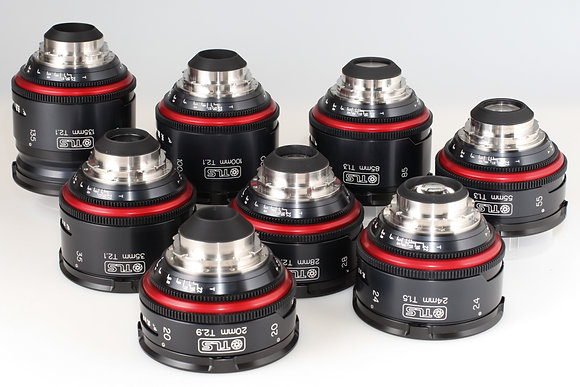 Canon FD TLS rehoused 20,24,28,35,55,85,100,135
