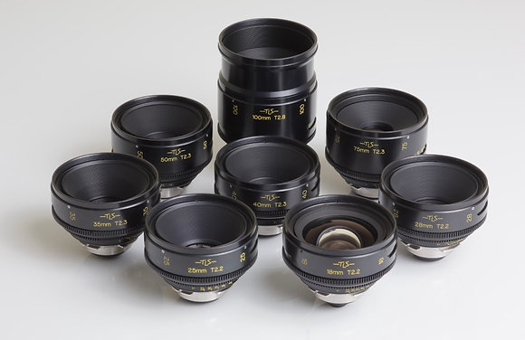 Cooke Speed Panchro TLS 18,25,28,35,40,50,75,100