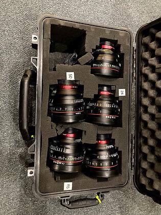 Canon Cineprime CN-E 14,24,35,50,85