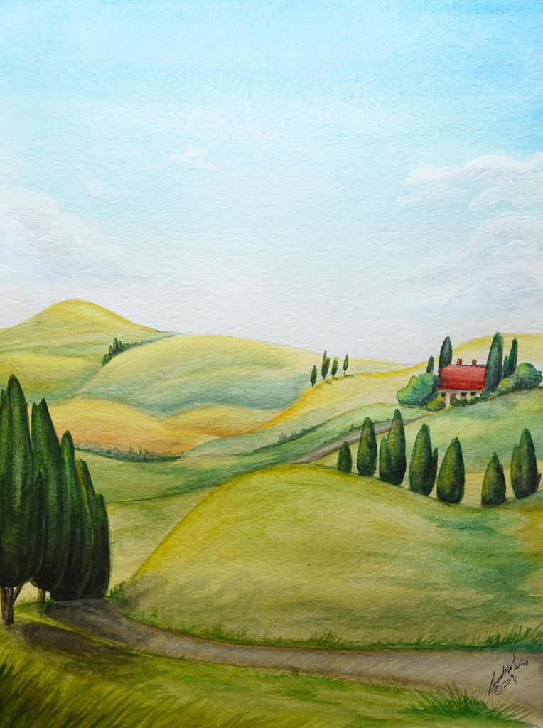 'Tuscany Dreaming'