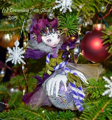 'Sugar Plum Faery' Holiday Ornament