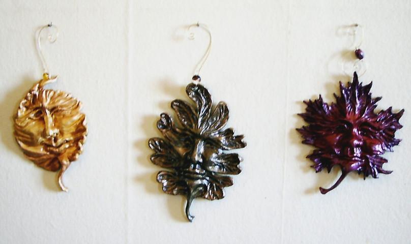 'Leaf Folk' Ornaments