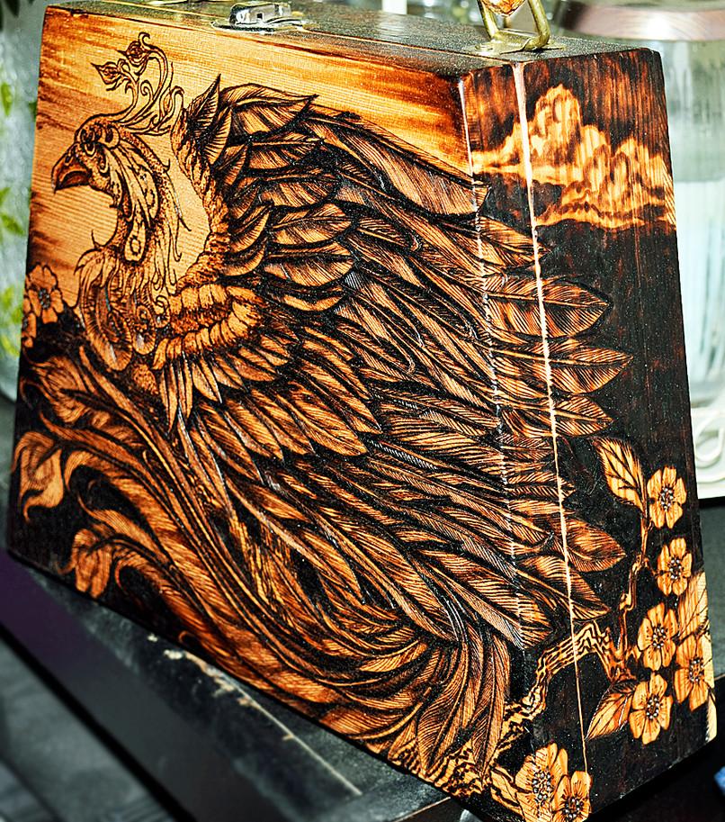 Phoenix Purse (in progress)