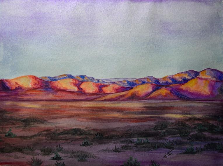'Desert Evening'