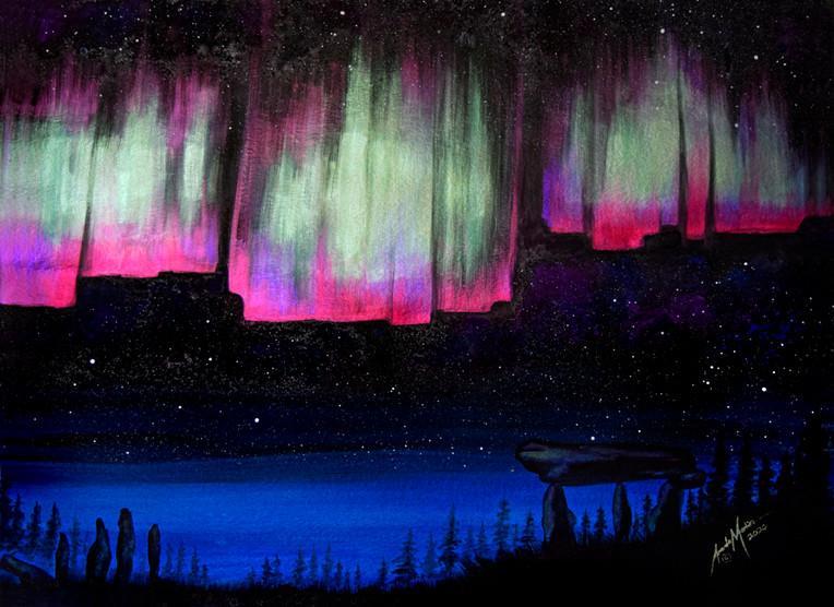 'Aurora Glow'