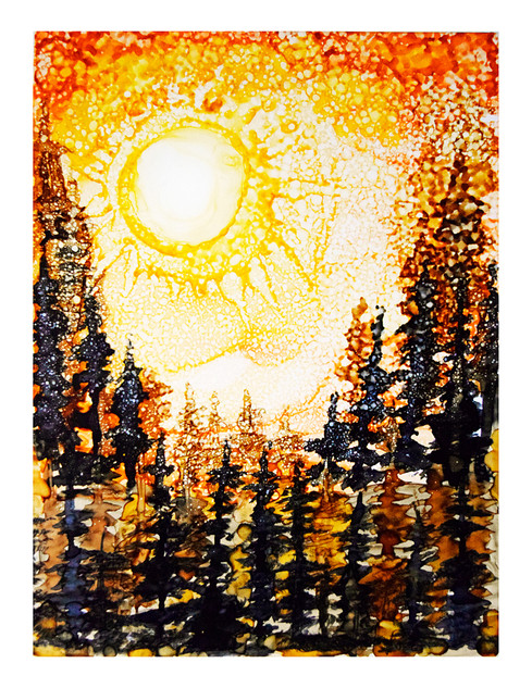 'Sepia Sun'