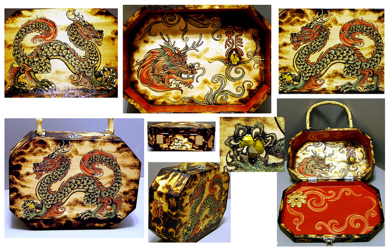 Chinese Dragon Purse
