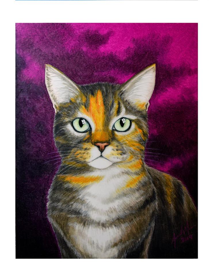 'Tiki' Portrait