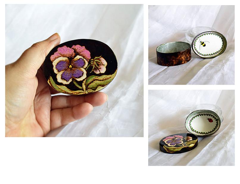 Small Pansy Box