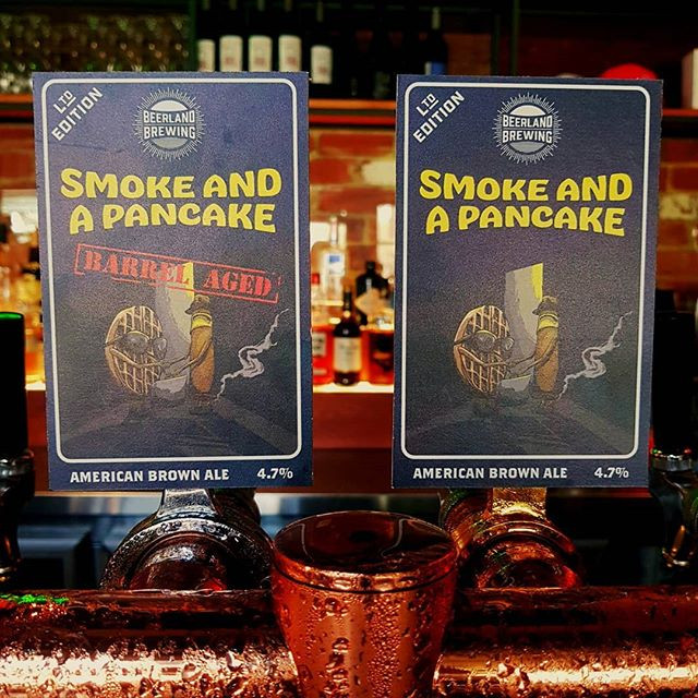 Smoke and a Pancake Tap Decal