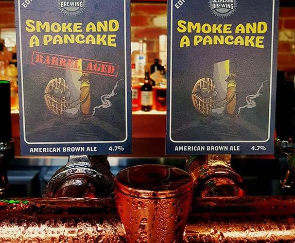 Smoke and a Pancake Tap Decal