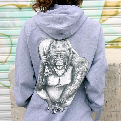 Dunstan | Grey Hoodie