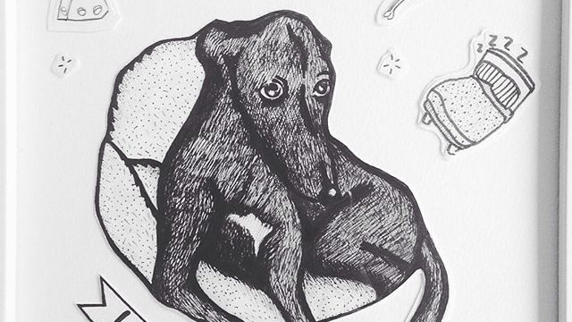Hand drawn customised portraits (with frame)