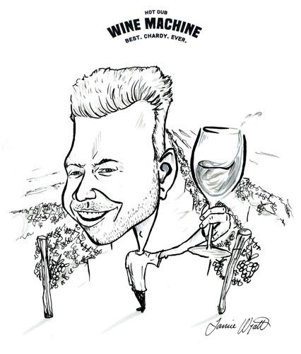 hot dub wine machine caricature.jpg