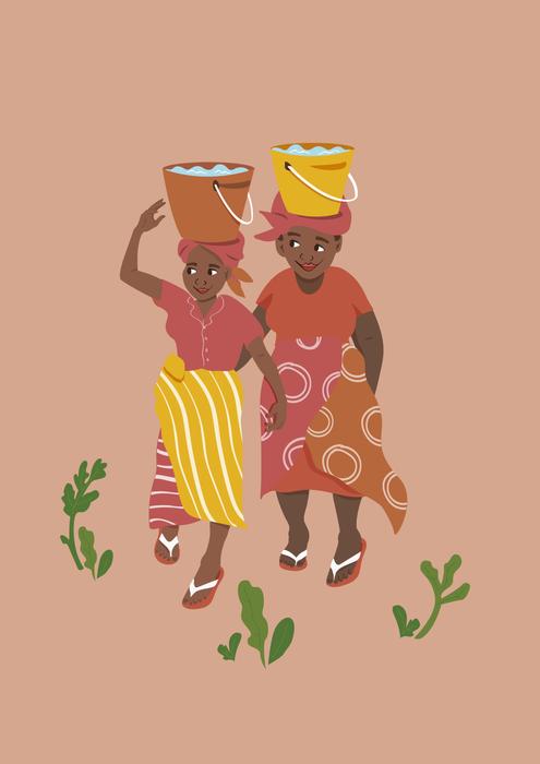 Zimbabwe_collecting water_MYA_Main Illus
