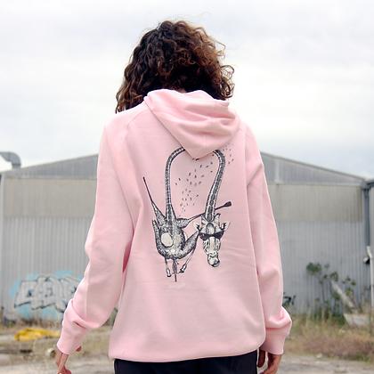 Lawrence | Pink Hoodie