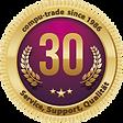 Compu-Trade 30 Jahre Badge
