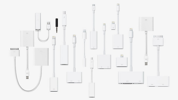 Apple Adapter Gesamtübersicht alle Adapter Mac und iOS