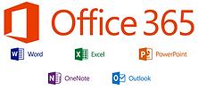 Microsoft Office 365 mit Word, Excel, PowerPoint, OneNote und Outlook