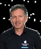Geschäftsführer Johann Wyss