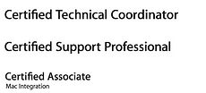 Apple Zertifizierungen ACTC ACSP MIB