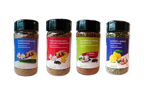 Seasoning Combo Pack