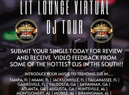 Get Heard on the Lit Lounge DJ Virtual Tour